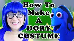 How to Make a Dory Cosplay Costume - Finding Dory - Madi2theMax #Dory #Cosplay #Halloween #DIY #Tutorial