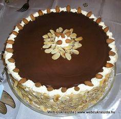 Mandulatorta Tiramisu, Ethnic Recipes, Food, Essen, Meals, Tiramisu Cake, Yemek, Eten