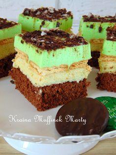 Kraina Muffinek Marty : Ciasto Miętusek, czyli ciasto mietowo- czekoladowe...