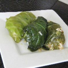 Lahanodolmathes Orphana: Meatless Stuffed Cabbage Rolls with Rice