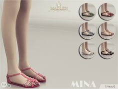 MJ95's Madlen Mina Shoes – Sims 4 Updates -♦- Sims 4 Finds & Sims 4 Must Haves -♦- Free Sims 4 Downloads