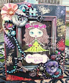 Lil Cutie Creations: Julia Spiri- Rose has been framed
