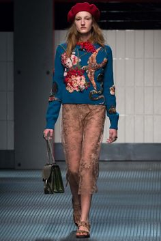 Gucci Fall 2015 Ready-to-Wear Fashion Show - Agnes Nieske (Supreme Paris)