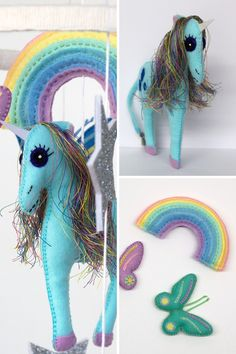 Mobile Phone Accessories Beautiful Uvr Rainbow Unicorn Mobile Phone Stand Holder Animal Pegasus Finger Ring Mobile Holder Stand For Iphone Xiaomi Huawei All Phone Mobile Phone Holders & Stands