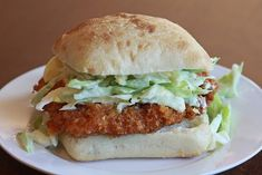 Our Version of Donnie Mac's Southern Fried Chicken Sandwich - favfamilyrecipes.com