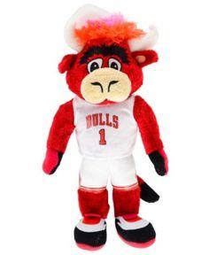 e70f1e3e099 Forever Collectibles Benny the Bull Chicago Bulls 8-Inch Plush Mascot - Red