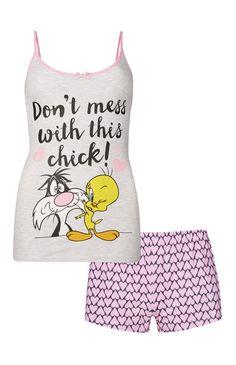 Primark - Pyjama rose Titi