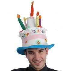 Divertido gorro para fiestas y cumpleaños afelpado. Con este divertido gorro  está pensado para no 7e5e976fa5d