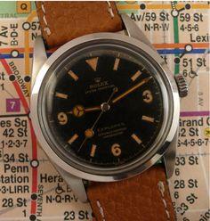 Rolex Explorer ref. 6350 (1953)