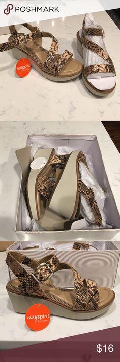 EasySpirit antigravity wedges size 6 Beautiful brand new easy spirit antigravity edition wedges.  Size 6.  Never worn still in box.  ❌no trades❌ Easy Spirit Shoes Espadrilles