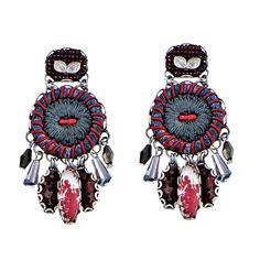Setty Gallery - Ayala Bar Red Magic Wind Post Earrings, $146 (http://www.settygallery.com/ayala-bar/ayala-bar-red-magic-wind-post-earrings/)