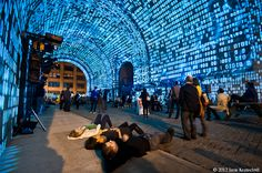 Dumbo Art Festival Mapping - Brooklyn.  http://virtualmentis.altervista.org/