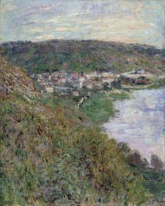 Claude Monet, View of Vétheuil, 1880, Gift of Howard Ahmanson, Jr. M.81.259.3, LACMA.