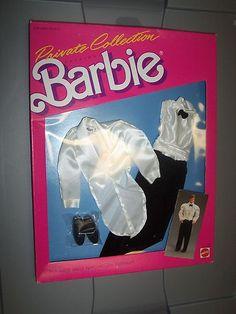 Ken Wedding Tuxedo Private Collection Fashion Barbie Mattel 1987 | eBay