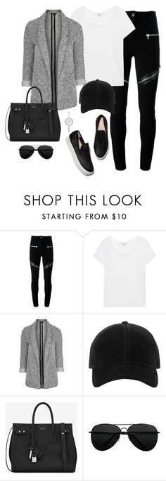 """""""Untitled #3450"""" by theaverageauburn ❤ liked on Polyvore featuring Givenchy, Splendid, Topshop, rag & bone, Yves Saint Laurent and DKNY"""