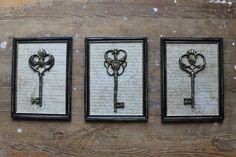 klucze vintage