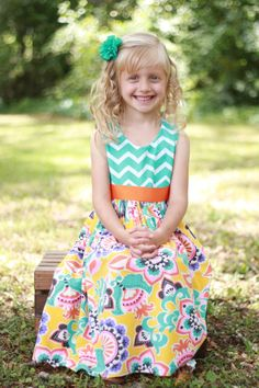 Spring Days Dress sizes 3 months 12 years by ImpactInspiredShop, $26.99