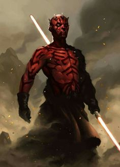 Darth Maul Lord of The Sith Darth Maul, Star Wars Characters Pictures, Star Wars Images, Star Wars Fan Art, Star Wars Sith, Clone Wars, Star Trek, Star Wars Personajes, Sith Lord