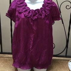 Brand new Ann Taylor blouse Brand new Ann Taylor blouse/ never worn / size m/ Ann taylor loft Tops Blouses