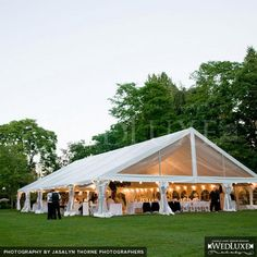 Reception Tent - an idea ??