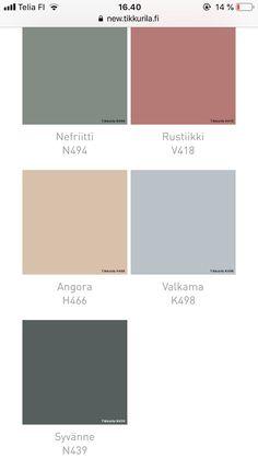 Walls, Colours