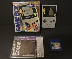 Nintendo Game Boy Color Pokemon Limited Edition IN BOX w/ Pokemon Blue Game #Nintendo
