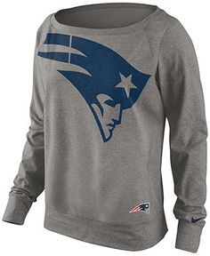 Nike Women's Sweatshirt, NFL Dri-FIT New England Patriots - Sports Fan Shop - Men - Macy's