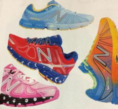 runDisney New Balance shoes for 2014....YEP, I want these! Especially the pink ones!!