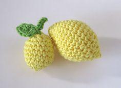 Mi limón, mi limonero...Amigurumi - Patón Gratis en Español http://ladycrochet.blogspot.com.ar/2012/04/mi-limon-mi-limonero.html