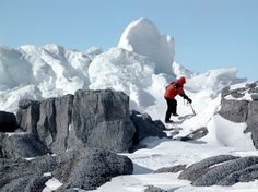 Mt. Erebus – Antarctica