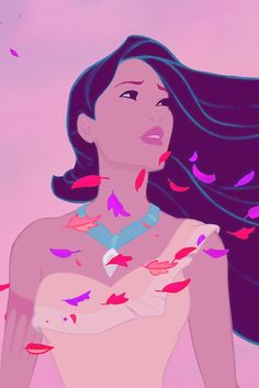 My favorite Disney princess. Disney's Pocahontas stands love, understanding, and peace.