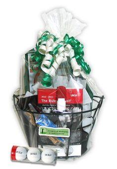 f5822f54078 Personalized Golf Gift Basket - GreatGolfMemories.com  golfcakesformen Top  Gifts For Men
