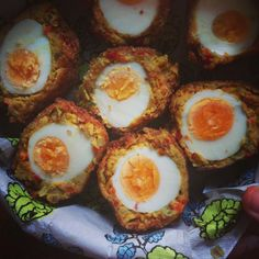 Vegetarian scotch eggs - or how I fell in love with chickpeas