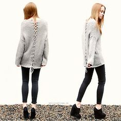 Melissa  Overgaard - Jeans, Knitted Sweater, Topshop Heels - LOVE MORE