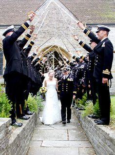 A naval wedding by Steve Wheller - Art by Design Photography, via Flickr