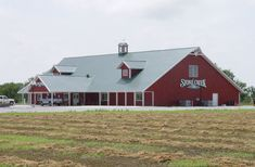 Short 8' side walls sidewall with steep 8:12 roof pitch metal building barn What do you think of this Lester Building?! @Lester Building Systems LLC