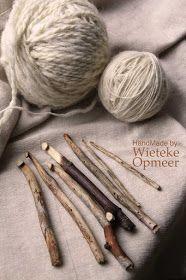 Hand made needles crochet hooks, etc