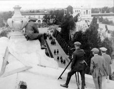 "Balboa Park, San Diego, California 1919 - Filming of ""Soldiers Of Fortune"""
