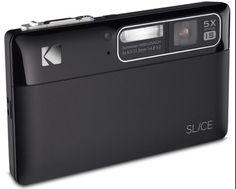 Engadget.com  Kodak Slice touchscreen camera
