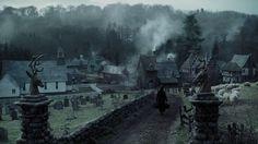 Sleepy Hollow movie set.