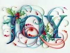 Joy, made in paper, by Yulia Brodskaya.
