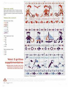 Photo from album on Yandex. Cross Stitch Sea, Cross Stitch Bookmarks, Cross Stitch Patterns, Vintage Cross Stitches, Stitch 2, Le Point, Needle And Thread, Beading Patterns, Needlework