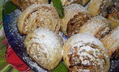 Rulouri cu nuci - cel mai bun desert al acestei toamne! Russian Cakes, Muffin, Toast, Rolls, Bread, Cookies, Breakfast, Sweet, Recipes