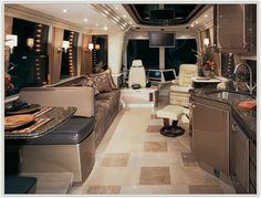 tour bus and rv interior images | 2006 Country Coach Prevost - Class A | RVWeb.com