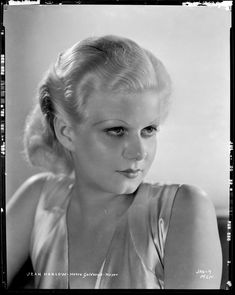 Jean Harlow from Red Dust by Clarence Sinclair Bull.