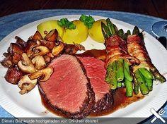 Chateaubriand mit Rotweinsauce, ein beliebtes Rezept aus der Kategorie Rind. Bewertungen: 14. Durchschnitt: Ø 4,3.
