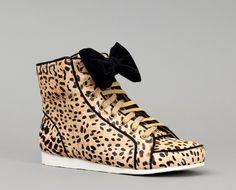 """Sneakers """"Tokyo"""" Leopard by Mi-Mai"""