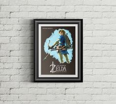 Legend Of Zelda : Breath Of The Wild Game by ExtremepandaDesign