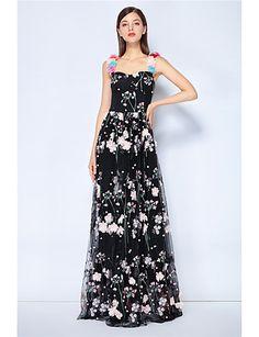 84e6894bb57c Γυναικεία Βίντατζ   Κομψό στυλ street Swing Φόρεμα - Μονόχρωμο
