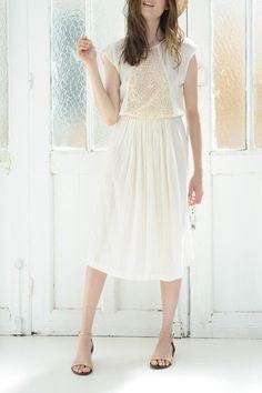 Jacmine Ecru Dress - main
